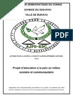 AJPD Projet Éducation