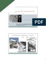 Diffusional Transformation KTF 2018