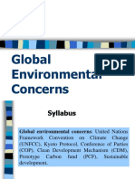 9.Global Environmental Concerns