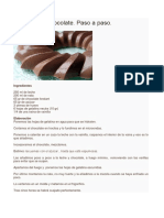 Bavarois de Chocolate