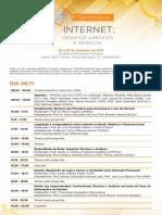 Programa Seminario Internet
