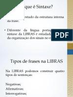 Sintaxedalibras LIBRAS