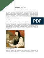 Biografia de Sor Juana