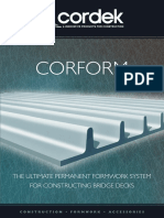 Corform Brochure