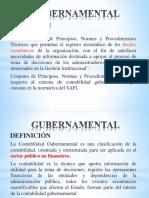 DIAPOSITIVAS CONTABILIDAD GUBERNAMENTA