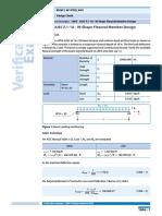 1004 Aisc f1 1a w Shape Flexural Member Design