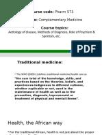 PHARM 573 – COMPLEMENTARY MEDICINE [Autosaved].pptx