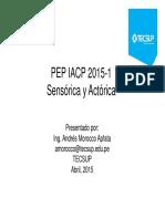Clase 1 Sensorica y Actorica 2015 Int Automatismo