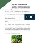 Animales en Peligro de Xtinción en El Ecuador