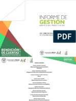 Informe de Gestión Universidad de nariño