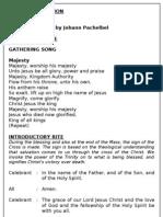 Wedding Mass Booklet