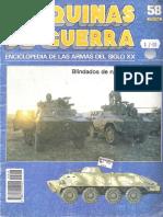 Maquinas de Guerra 058 - Blindados de Ruedas Modernos (1ª Parte)