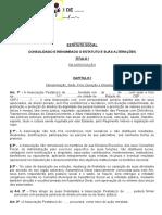 5 Modelo de Estatuto Padrão Para Associações Pestalozzi1