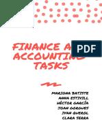 Finance Department Functions