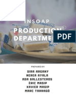 Production Department Functions