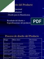 Diseo Producto y Seleccin Proceso