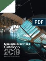 201901 3m Catálogo Mercados Eléctricos 2019