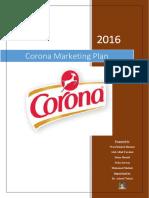 Corona Marketing Plan