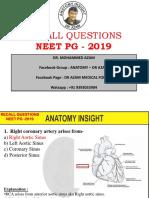 Neet Pg 2019 - Dr Azam