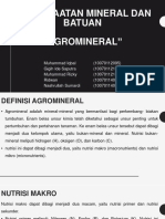 ppt agromineral