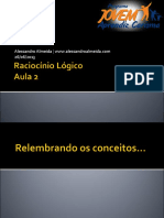 Raciocniolgico Aula2 130705141812 Phpapp02