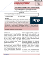 Studies on the Oxidative Stress Parameters in Oral Cancer Patients