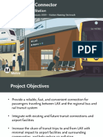 Airport Metro Connector presentation