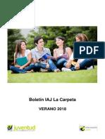 La Carpeta 2018_GuiadeVeranoparaJovenes