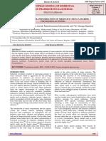Microbial Biotransformation of Mercury Using a Marine Pseudomonas Putida