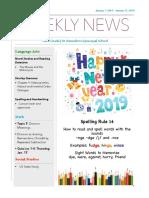 weekly newsletter-jan 7-11