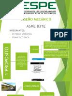 ASME B31E
