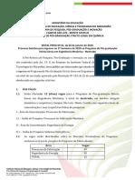 001 Programa Institucional CAX 0032019