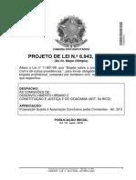 Lei 11.901 - Bombeiro Civil