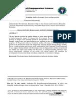 In Silico Drug Designing Studies on Dengue Virus Envelope Protein
