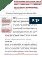 In Silico Drug Designing Studies on Dengue NS5 Protein