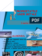 Metale Si Proprietatile CD (1)
