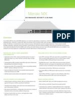 Datasheet MX64W