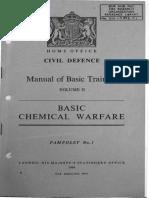 A12.CD.M2.P1 Civil Defence Manual of Basic Training Volume II Basic Chemical Warfare