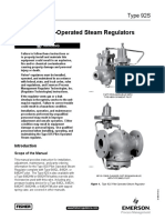 Fisher Type 92s Pilot-operated Steam Regulators Instruction Manual October 2013