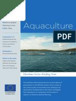 D2a Aquaculture Briefing Note