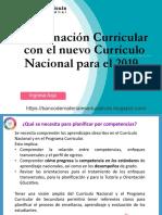 Programación Curricular con el nuevo Currículo Nacional para el 2019.pdf