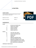 Copycat Pizza Hut Pan Pizza Recipe - Genius Kitchen