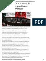 01-12-2018 Asiste Astudillo a la toma de protesta del presidente López Obrador.