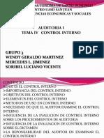 Tema i Campo de La Auditoria