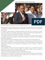 03-12-2018 Anuncia Héctor Astudillo obras relevantes para Chilpancingo.