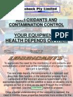 Anti-Oxidants & Contamination Contro