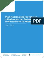 Plan Nacional de Prevencion Del Embarazo No Intencional en La Adolescencia 0