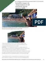 08-12-2018 Da Gobernador Astudillo toque de salida a 7 mil 500 deportistas en 60 Maratón Internacional Aguas Abiertas Acapulco 2018.