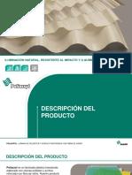 Laminas de Poliester y Acrilico Poliacryl Presentacion