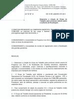 OS N 014 - Determina a Criação de Grupo de Trabalho Para Promover Estudo Sobre a Melhoria Da Fiscalização.